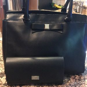 Kate Spade leather purse and matching wallet